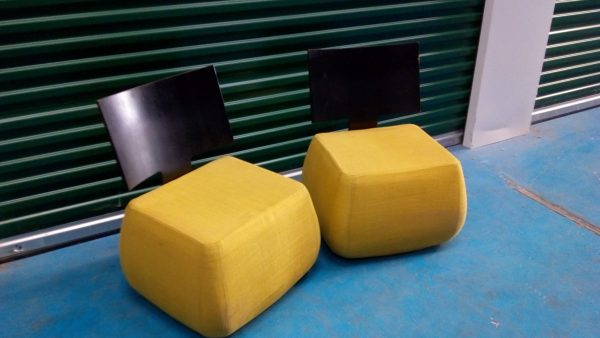 2 Funky designer chairs -